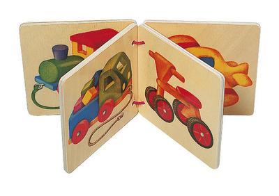 Selecta Fahrzeuge, Holzbilderbuch