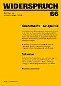 Widerspruch 66: Beiträge zu sozialistischer P ...