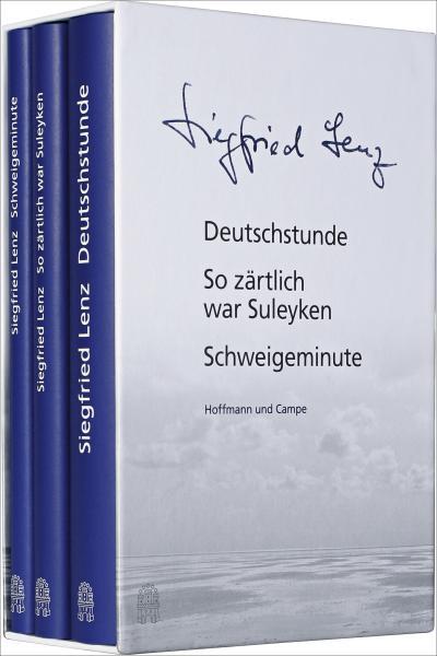 Siegfried Lenz - Seine erfolgreichsten Bücher: Deutschstunde, So zärtlich war Suleyken, Schweigeminute