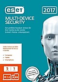 ESET Multi-Device Security 2017 Edition 5 User (FFP). Windows Vista/7/8/8.1/10/MAC/Linux/Android