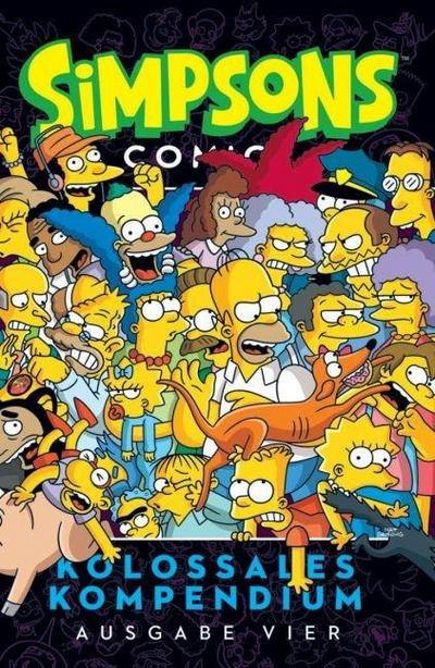 Simpsons Comics Kolossales Kompendium 04