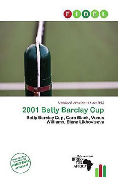 2001 BETTY BARCLAY CUP