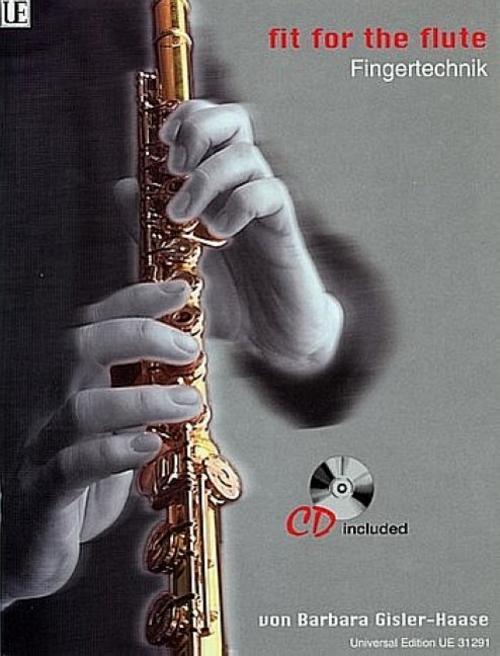 Fit-for-the-Flute-Fingertechnik-Ausgabe-mit-CD-Barbara-Gisler-Haase