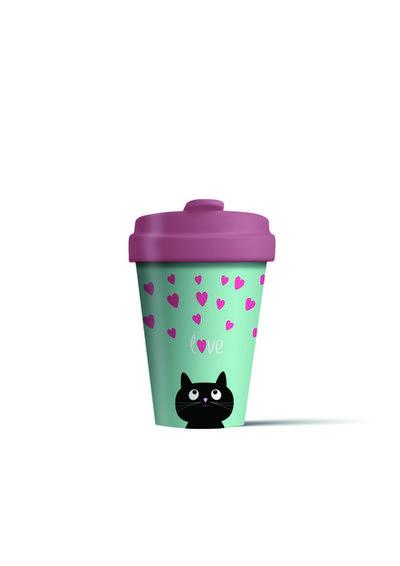 BambooCUP* Kitty Love - CHIC-MIC - Haushaltswaren, Deutsch, BambooCup, ,