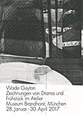 Wade Guyton. Zeichnungen von Drama und Frühstück im Atelier. Museum Brandhorst, München 28. Januar - 30. April 2017