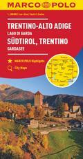 MARCO POLO Karte Italien 03. Südtirol, Trentino, Gardasee 1:200 000
