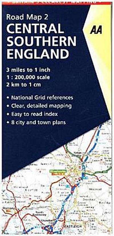 road-map-britain-02-central-southern-england-1-200-000-aa-road-map-britain-band-2-