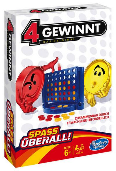 hasbro-spiele-b1000100-4-gewinnt-kompakt-reisespiel, 5.35 EUR @ regalfrei-de