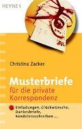 Musterbriefe für die private Korrespondenz: E ...