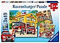 Feuerwehreinsatz (Kinderpuzzle)