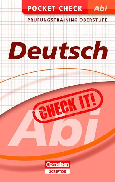 Pocket Check Abi Deutsch