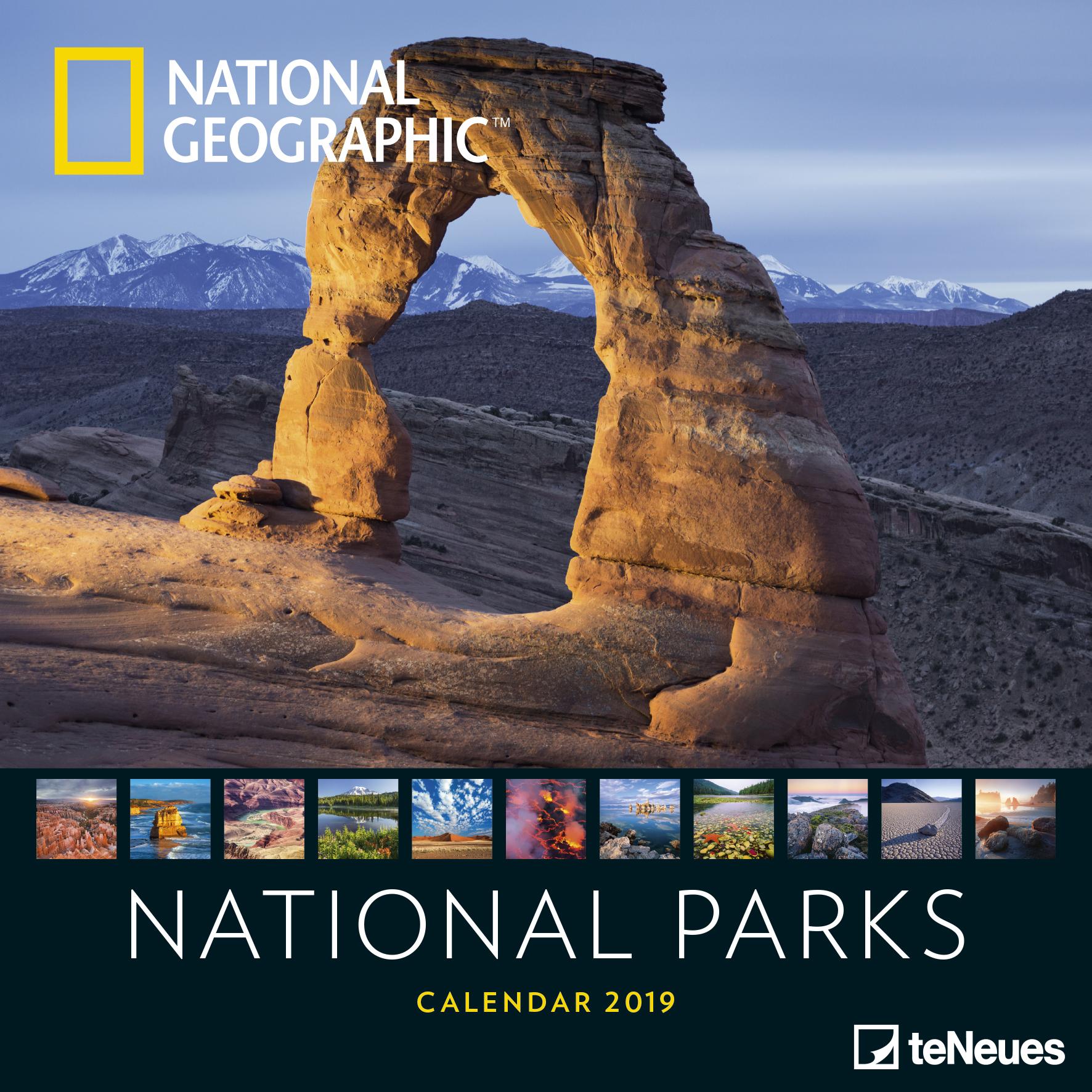 National-Parks-2019-National-Geographic-Broschuerenkalender