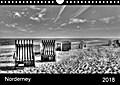 9783665615437 - jürgen bergenthal: Norderney (Wandkalender 2018 DIN A4 quer) - schwarz-weiße Nordsee-Impressionen (Monatskalender, 14 Seiten ) - كتاب