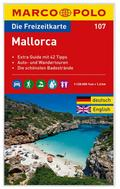 MARCO POLO Freizeitkarte 107 Mallorca 1 : 120 000