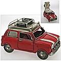 Spardose mit Bilderrahmen Auto Mini rot