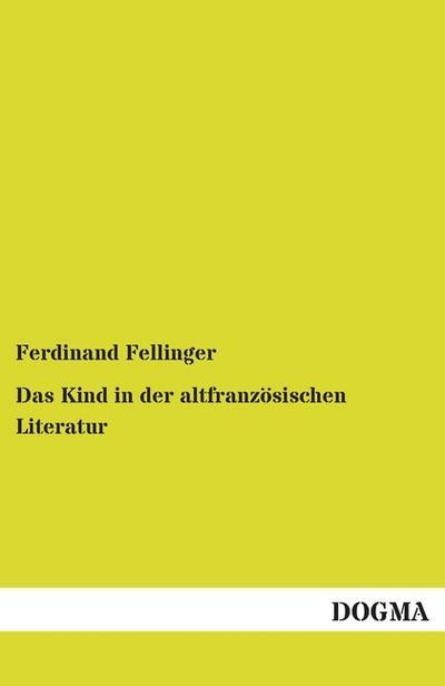 das-kind-in-der-altfranzoesischen-literatur