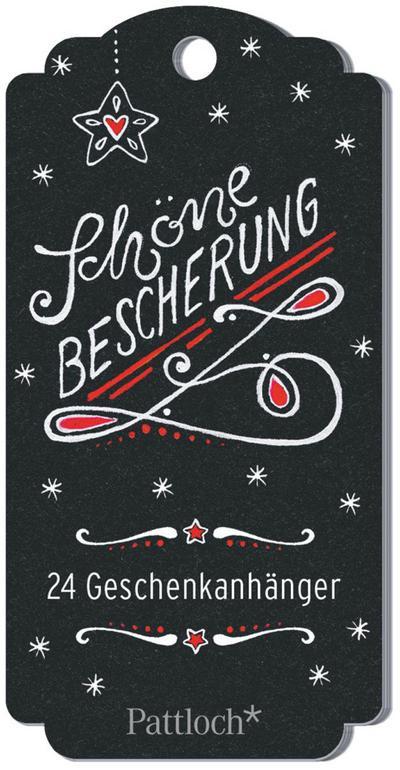 Schöne Bescherung: 24 Geschenkanhänger für Weihnachten - Pattloch Geschenkbuch - Taschenbuch, Deutsch, , 24 Geschenkanhänger für Weihnachten, 24 Geschenkanhänger für Weihnachten