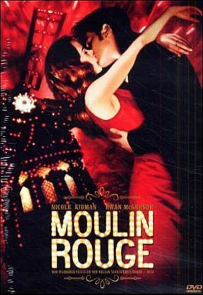 Moulin Rouge (Einzel-DVD) - Twentieth Century Fox Home Entert. - DVD, Deutsch| Englisch, Baz Luhrmann, Ausgezeichnet mit dem Golden Globe 2001 für den Besten Film, Beste Filmmusik und Beste Hauptdarstellerin (Nicole Kidman). Für Hörgeschädigte geeignet. USA, Ausgezeichnet mit dem Golden Globe 2001 für den Besten Film, Beste Filmmusik und Beste Hauptdarstellerin (Nicole Kidman). Für Hörgeschädigte geeignet. USA
