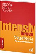 Brockhaus Scolaris Intensiv lernen Deutsch 5.-6. Klasse: Wortarten und Satzformen