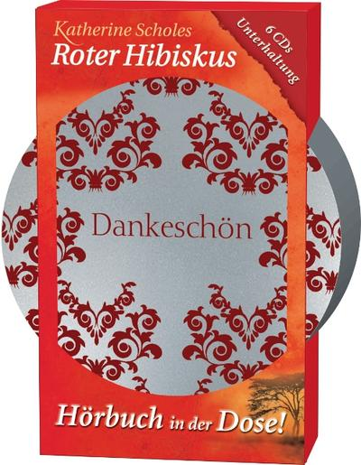 Roter Hibiskus, 6 CDs (Hörbuch in der Dose)