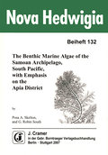 The Benthic Marine Algae of the Samoan Archipelago, South Pacific, with emphasis on the Apia District