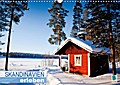 9783665731854 - k. A. CALVENDO: Skandinavien erleben (Wandkalender 2018 DIN A3 quer) - Ein nordischer Wintertraum (Monatskalender, 14 Seiten ) - کتاب