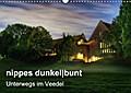 9783665894290 - Peter Brüggen // www. koelndunkelbunt. de: nippes dunkelbunt - Unterwegs im Veedel (Wandkalender 2018 DIN A3 quer) - Nippes bei Nacht (Monatskalender, 14 Seiten ) - Book