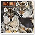 Wolves - Wölfe 2018 - 18-Monatskalender