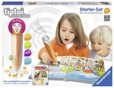 tiptoi-starter-set-wieso-weshalb-warum-entdecke-den-bauernhof-tiptoi-stift-mit-player-und-buch