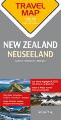 Reisekarte Neuseeland 1:800.000