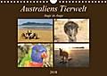 9783665731885 - Martin Wasilewski: Australiens Tierwelt - Auge in AugeAT-Version  (Wandkalender 2018 DIN A4 quer) - Reptilien, Beuteltiere und die bunte Vogelwelt von Down Under (Monatskalender, 14 Seiten ) - 书