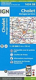 Cholet Mortagne-sur-Sèvre 1:25000