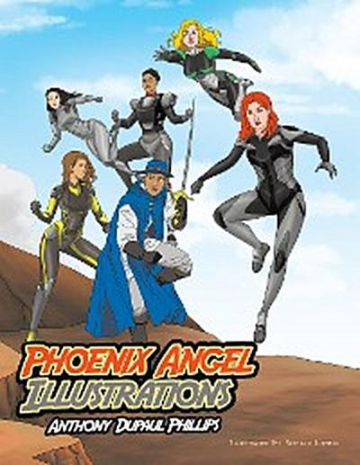 Phoenix Angel Illustrations