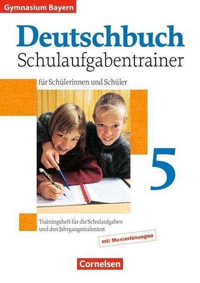 deutschbuch-gymnasium-bayern-5-jahrgangsstufe-schulaufgabentrainer-mit-losungen