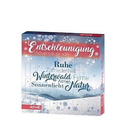 AdventskalenderEntschleunigung - Handelshaus Huber-Koelle - Badartikel, Deutsch, , 24 x Ruhe finden und Abschalten, 24 x Ruhe finden und Abschalten