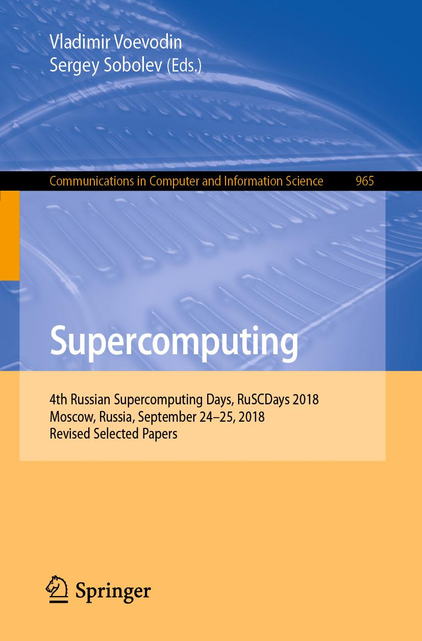 Vladimir-Voevodin-Supercomputing9783030058067