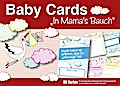 """Baby Cards """"In Mama's Bauch"""""""