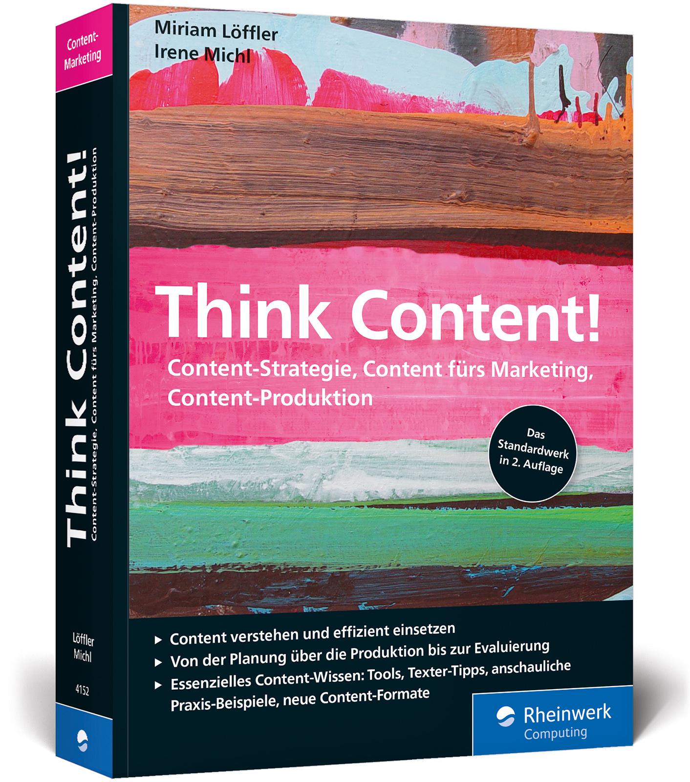 Think Content! Miriam Löffler Taschenbuch