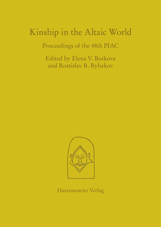Kinship in the Altaic World Elena V Boikova