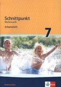 Schnittpunkt Mathematik - Ausgabe für Niedersachsen / Arbeitsheft mit Lösungsheft 7. Schuljahr - Mittleres Niveau