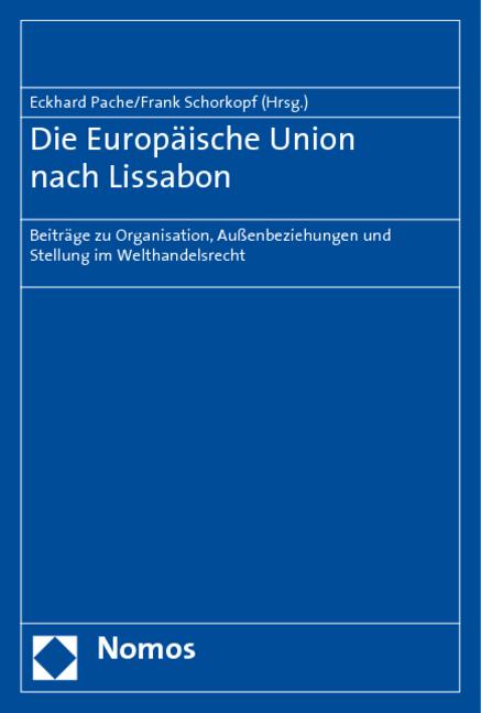 Die-Europaeische-Union-nach-Lissabon-Eckhard-Pache