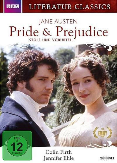 Pride & Prejudice - Jane Austen - Literatur Classics [2 DVDs] - New KSM - DVD, Englisch| Deutsch, Colin Firth, ,