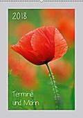9783665615208 - Michael Möller: 2018 Termine und Mohn (Wandkalender 2018 DIN A2 hoch) - Voll Mohn - Terminplaner für Freunde des Lebens und der Natur (Planer, 14 Seiten ) - کتاب