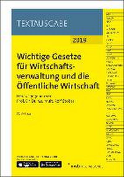 wichtige-gesetze-fur-wirtschaftsverwaltung-und-die-offentliche-wirtschaft-nwb-textausgabe-