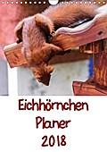 9783665615956 - Carsten Jäger: Eichhörnchen Planer 2018 (Wandkalender 2018 DIN A4 hoch) - Eichhörnchenbilder mit Planer-Kalendarium (Planer, 14 Seiten ) - کتاب