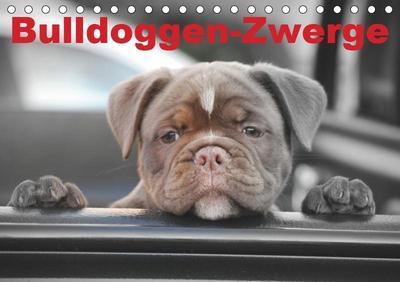 Bulldoggen-Zwerge (Tischkalender 2019 DIN A5 quer)