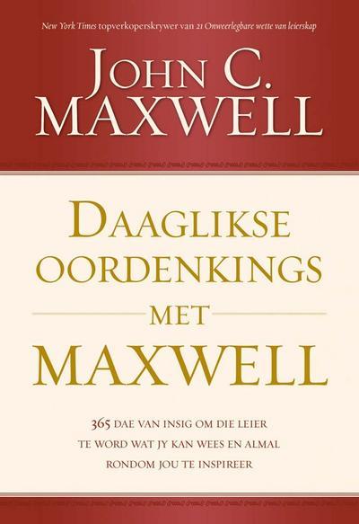 Daaglikse oordenkings met Maxwell