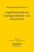 Legalitätskontrolle im Kapitalgesellschafts-  ...