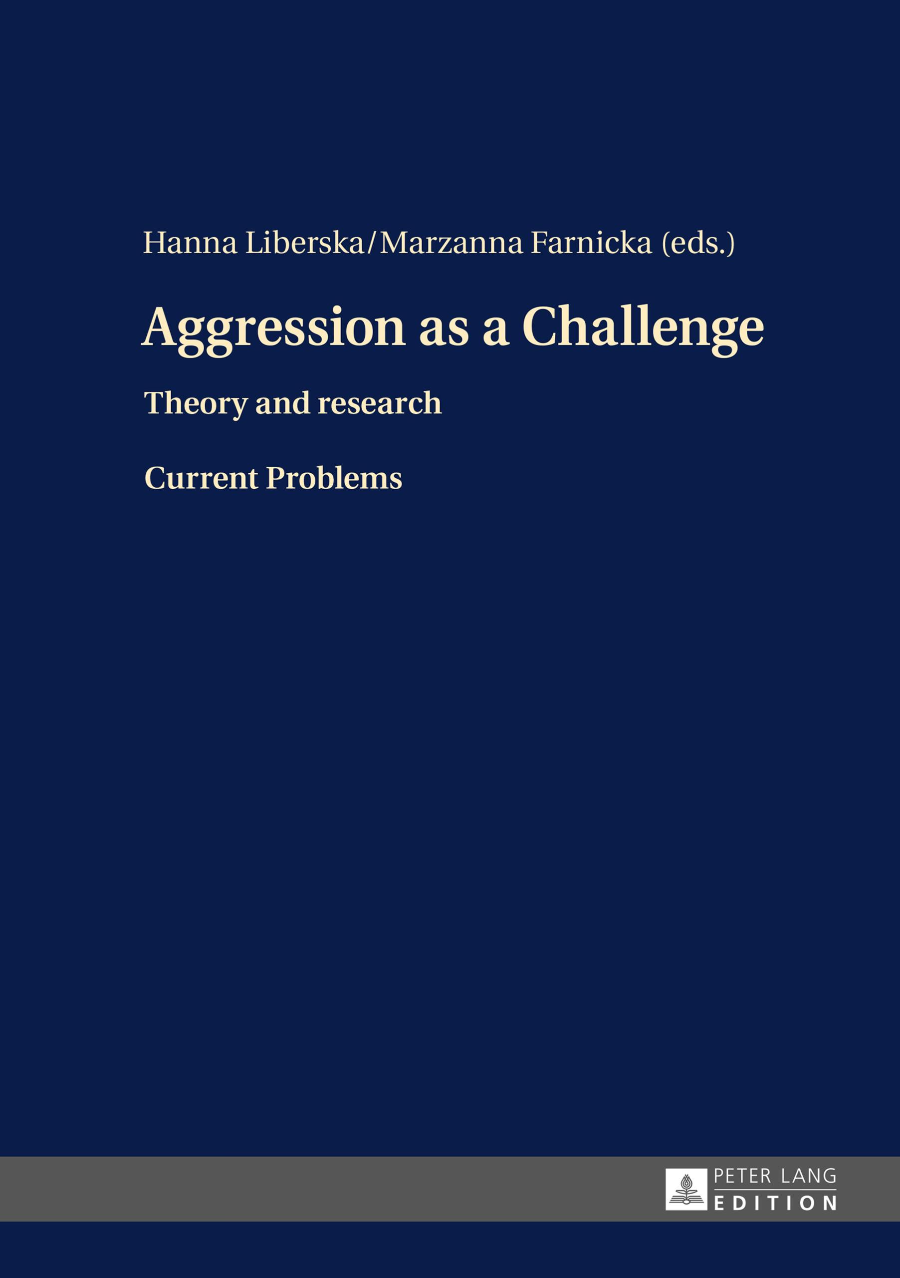 Aggression-as-a-Challenge-Hanna-Liberska