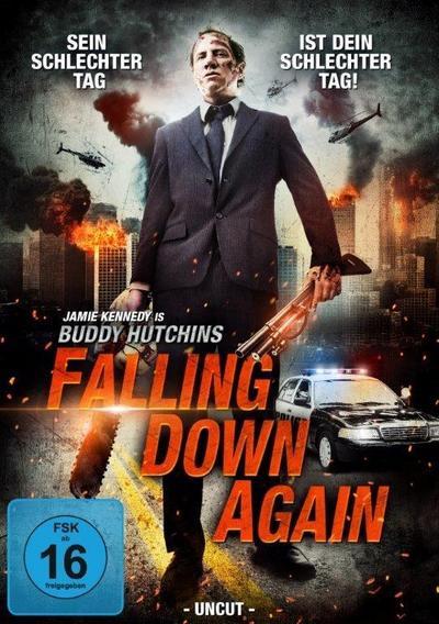 Buddy Hutchins - Falling Down Again - Kinokater - DVD, Englisch| Deutsch, Jaimie Kennedy, Falling Down Again, Falling Down Again